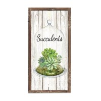 """WOOD FRAME WITH SAYING SUCCU, 24""""H"""