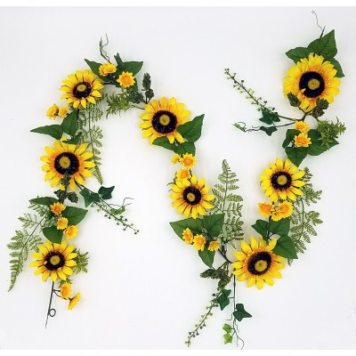 "72"" Sunflower Garland"