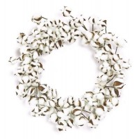 ESE COTTON WREATH, 22""