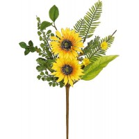 "SUNFLOWER & BLOSSOM PICK, 17""H"