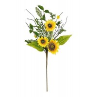 "SUNFLOWER & BLOSSOM PICK,29""H"